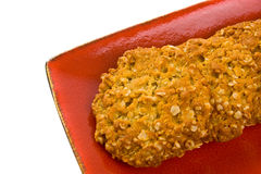Anzac Cookies Stock Photography