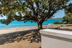 Anzac Cove en Gallipoli en Canakkale Turquía fotografía de archivo libre de regalías