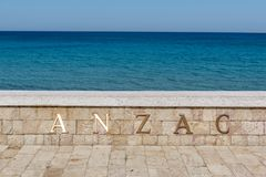 Free Anzac Cove In Gallipoli At Canakkale Turkey Stock Photos - 128927733