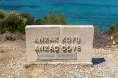 Free Anzac Cove In Gallipoli At Canakkale Turkey Royalty Free Stock Photo - 128927885