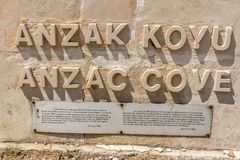 Free Anzac Cove In Gallipoli At Canakkale Turkey Royalty Free Stock Image - 128927906