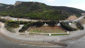 Anzac cove. stock video footage