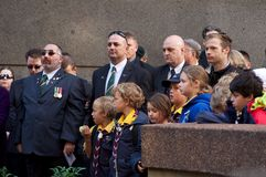 Anzac Day 2012 Royalty Free Stock Image