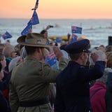 Anzac Day Fotos de archivo libres de regalías