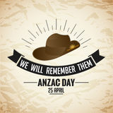 Anzac Day illustration de vecteur