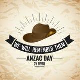 Anzac Day Lizenzfreie Stockfotos
