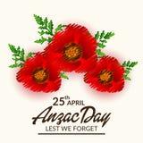Anzac Day Photographie stock libre de droits
