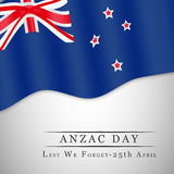 Anzac Day-achtergrond Royalty-vrije Stock Afbeelding