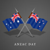 Anzac Day-achtergrond Stock Afbeelding