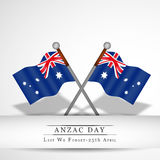Anzac Day background Stock Image
