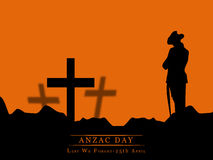 Anzac Day background Royalty Free Stock Photo