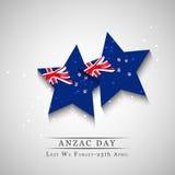Anzac Day bakgrund Fotografering för Bildbyråer