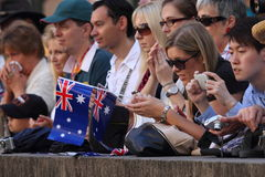 Anzac day commemorations Royalty Free Stock Photo