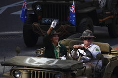 Anzac day commemorations Stock Photos