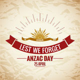 Anzac Day Royalty Free Stock Photos