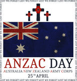 Anzac day. Greeting card Royalty Free Stock Photo