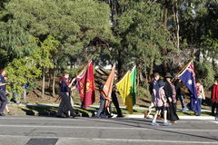 Anzac Day March Imagens de Stock Royalty Free