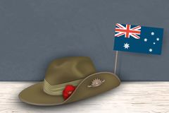 Anzac Day poppies memorial anniversary holiday war veterans memory. Anzac Day 25 April Australian war remembrance day poster or gr. Eeting card design of Stock Image