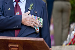 Anzac day 2013 Stock Image