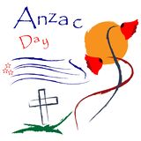 Anzac day stock background. vector illustration. - Vector . EPS file available. see more images related royalty free illustration