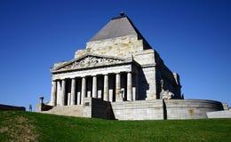 ANZAC - heiligdom van herinnering Stock Foto's