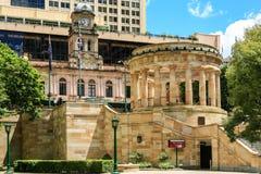 ANZAC Memorial ANZAC Square, Brisbane Royaltyfri Bild