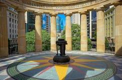 ANZAC Memorial, Brisbane, Australia imagenes de archivo