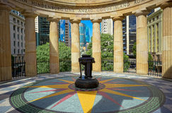 ANZAC Memorial, Brisbane, Australie Images stock