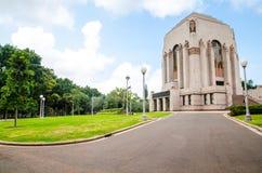 ANZAC Memorial is het belangrijkste herdenkings militaire die monument van Sydney, Australië, bij zuidelijk van Hyde Park wordt g royalty-vrije stock afbeelding
