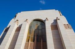 ANZAC pomnik główny pamiątkowy militarny zabytek Sydney, projektował C Bruce Dellit obrazy royalty free