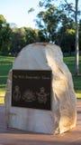anzac pomnika wojna obraz stock