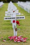 ANZAC Rememberance Crosses Stock Images