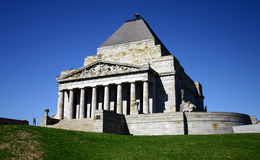 ANZAC - shrine of remembrance Stock Photos