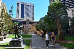 ANZAC Square, Brisbane - Queensland Australien Lizenzfreie Stockbilder