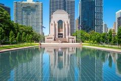 ANZAC War Memorial en Sydney, Australia foto de archivo