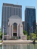 Anzac war memorial in Hyde park Royalty Free Stock Images
