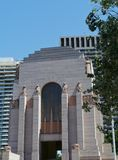 Anzac war memorial in Hyde park Royalty Free Stock Photo