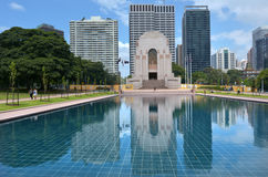 ANZAC War Memorial Hyde Park Sydney New South Wales Australia Stock Images