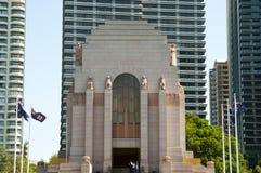Anzac War Memorial - Sydney - Australien lizenzfreies stockbild