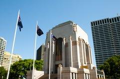 Anzac War Memorial - Sydney - Australien lizenzfreie stockfotos