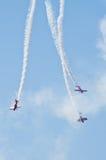Anzeige der aerobatic Gruppe Lizenzfreie Stockfotografie