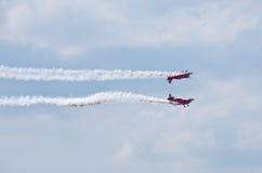 Anzeige der aerobatic Gruppe Stockfotos