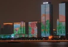 Anzeige des Gipfels G20, Hangzhou, China Stockfotos