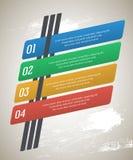 Anzeige-infographics-Schablone-Schmutz-Hintergrund-alt Stockfotografie