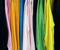 Anzeige von Hemden Lizenzfreie Stockbilder