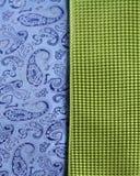 Anzeige von Krawatten Lizenzfreie Stockfotografie