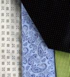 Anzeige von Krawatten Stockbilder