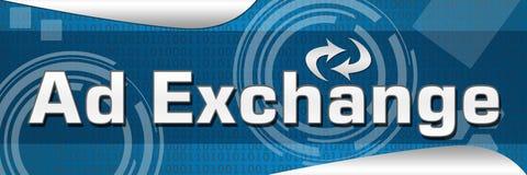 Anzeigen-Austausch Stockfoto