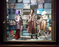 Anzeigen-Fenster Bergdorf Goodman, New York City, NY, USA Lizenzfreie Stockbilder