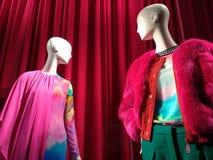 Anzeigen-Fenster Bergdorf Goodman, New York City, NY, USA Künstlerisch, Beispiel stockfotos